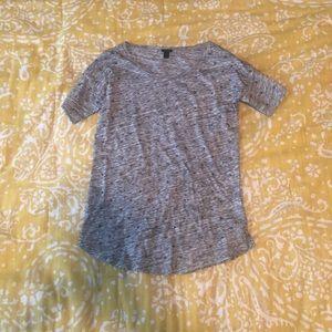 J Crew beaded short sleeve shirt! XXS
